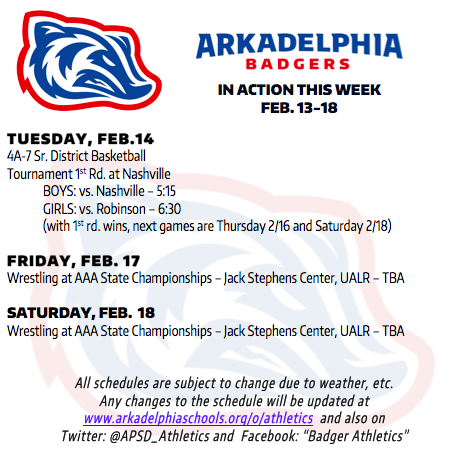 7411f7b9eb37fa This Week in APSD Athletics  Feb. 13-18