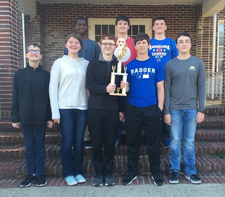 9th Grade Quiz Bowl Team places 1st in 4A AGQBA Junior High Finals
