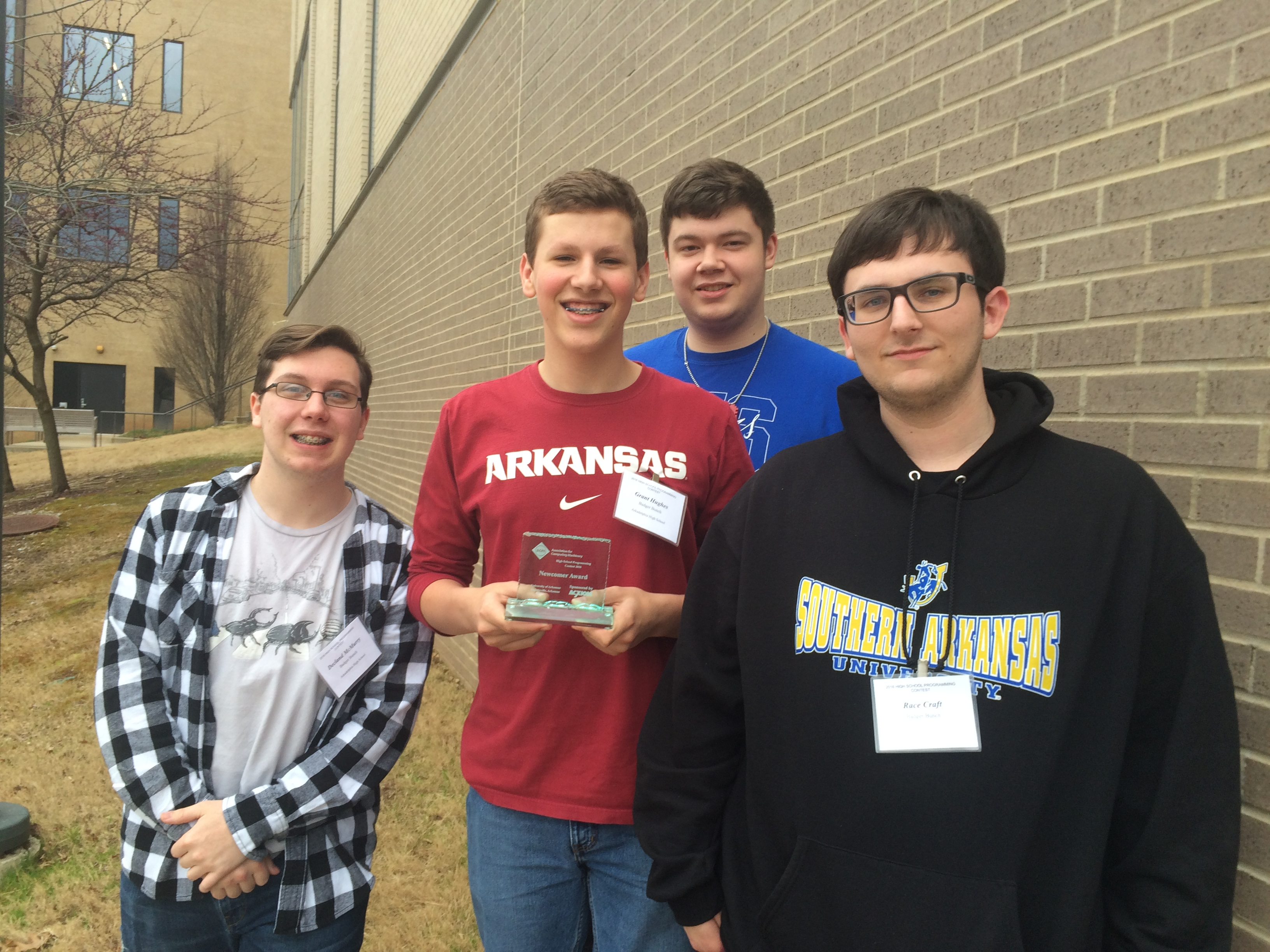 AP Computer Science students place seventh at University of Arkansas Programming Contest