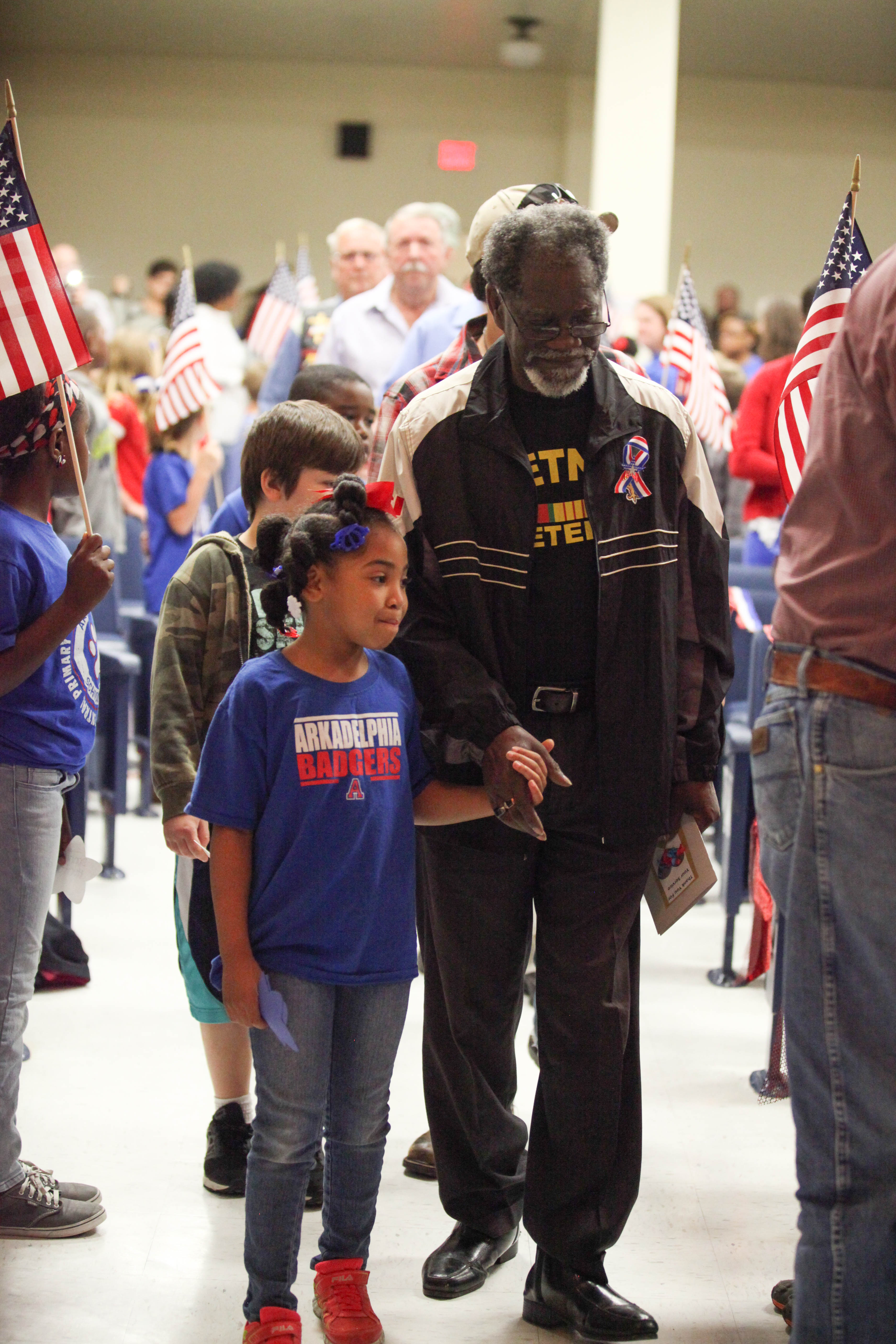 Central hosts annual Veterans Day Celebration